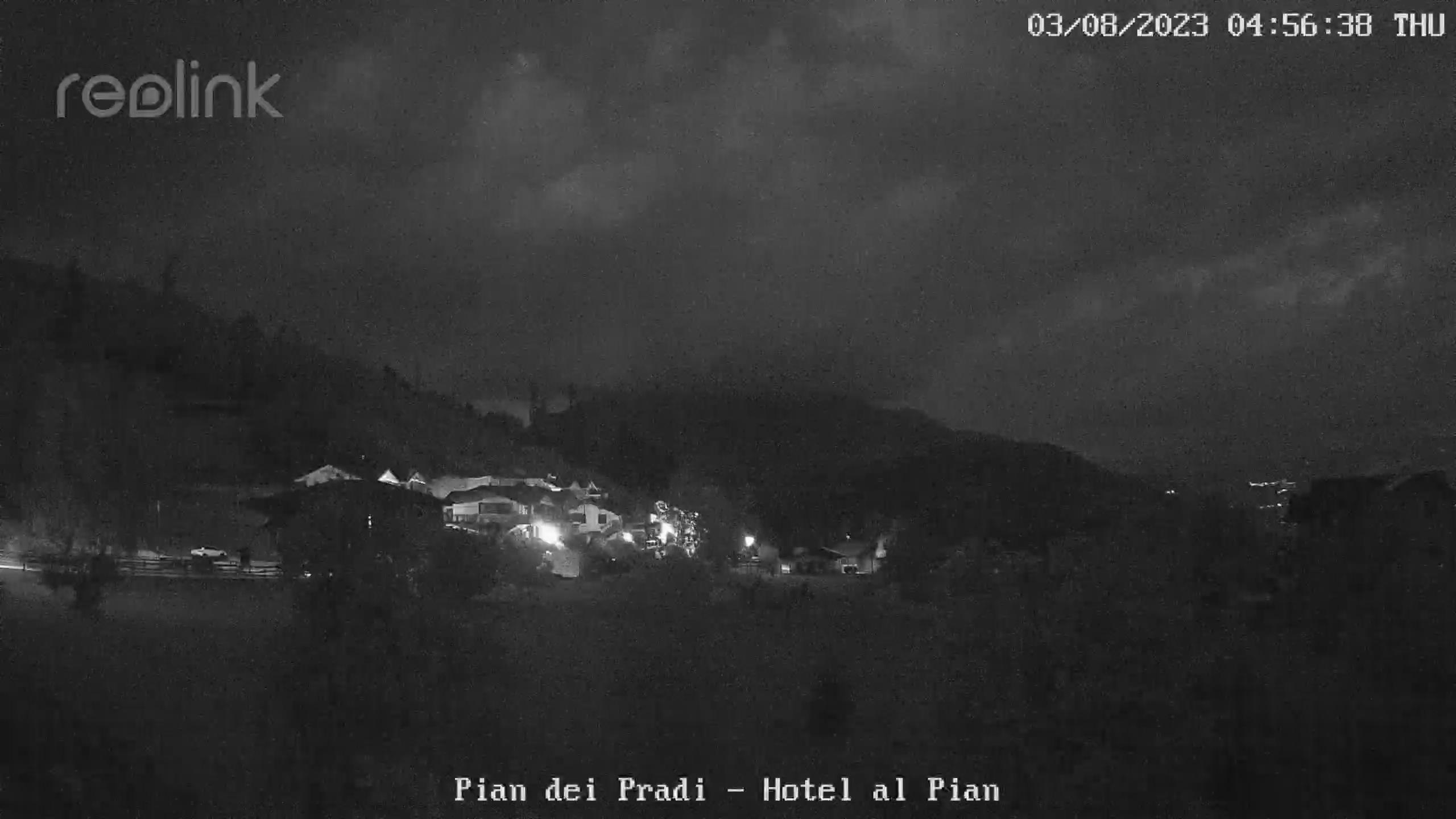Webcam a cura di Meteo Al Pian. Puntamento verso la Vigolana